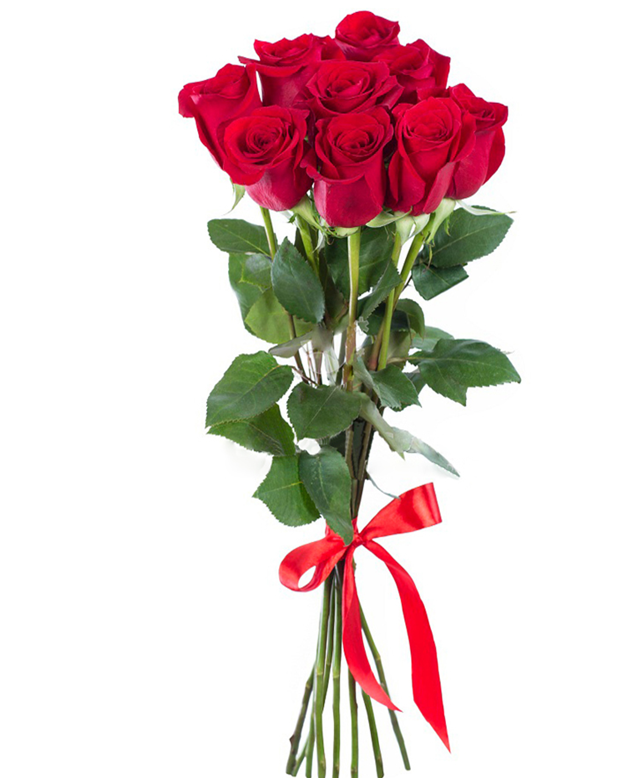 вязаные розы фото пять штук начала покажем