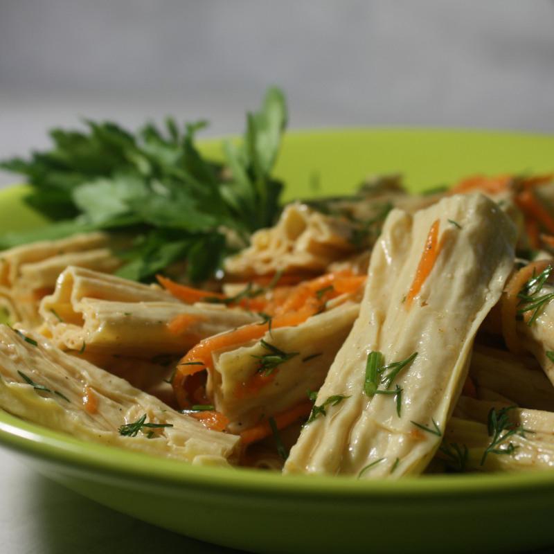 Спаржа с корейской морковкой диета